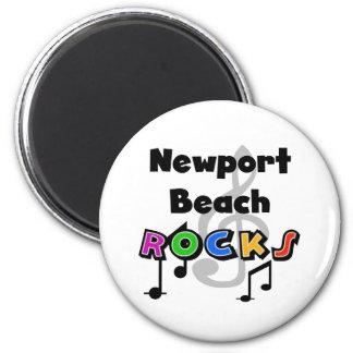 Newport Beach Rocks Fridge Magnets