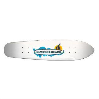 Newport Beach. Skate Deck