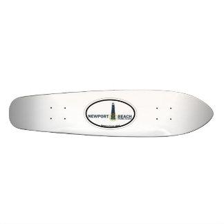 Newport Beach. Skateboard