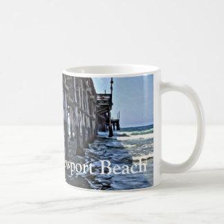 Newport Beach - White 11 oz Classic White Mug