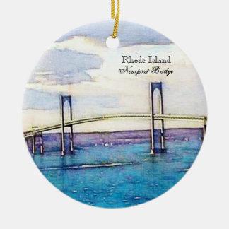 Newport bridge ornament