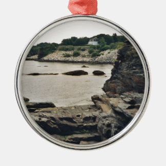 Newport Cliff Christmas Ornament