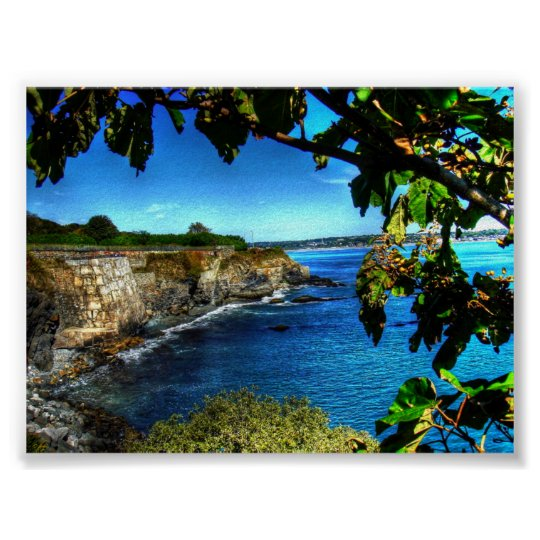 Newport Cliff Walk - Poster