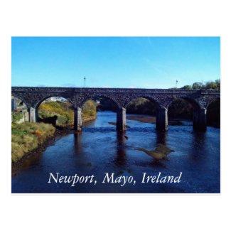 Newport, Co Mayo Postcard