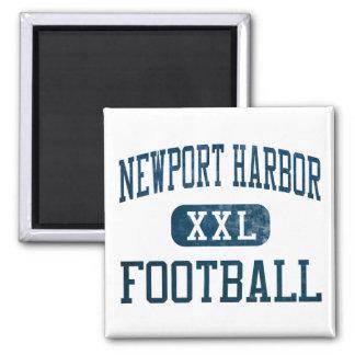 Newport Harbor Sailors Football Magnets