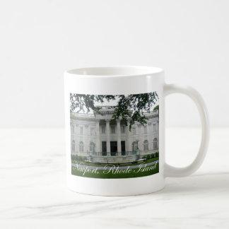 Newport Mansion Basic White Mug