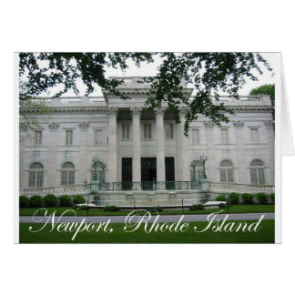 Newport Mansion Greeting Card