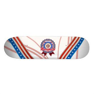 Newport, MN Custom Skate Board