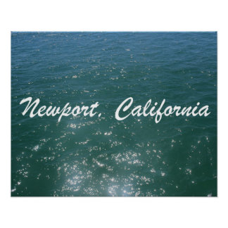 Newport Ocean Poster