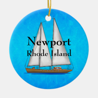 Newport Rhode Island Christmas Ornament