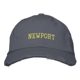 Newport Rhode Island Hat Embroidered Baseball Caps