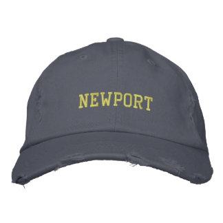Newport Rhode Island Hat Embroidered Hats