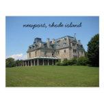 Newport, Rhode Island mansion Postcards
