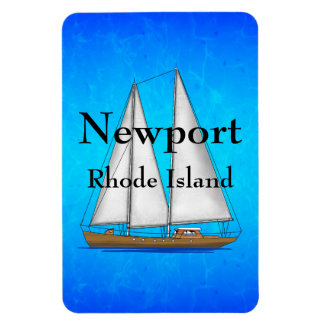 Newport Rhode Island Vinyl Magnet