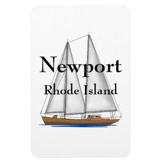 Newport Rhode Island Vinyl Magnets