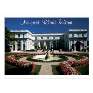 Newport Rhode Island, Rosecliff Mansion Post Card