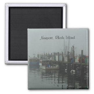 Newport, Rhode Island Square Magnet