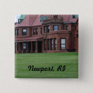 Newport, RI 15 Cm Square Badge