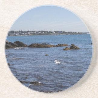 newport ri ocean view drink coasters