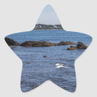 newport ri ocean view star sticker