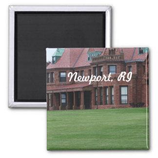 Newport, RI Square Magnet