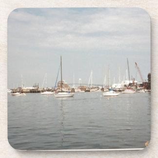 Newport sailing beverage coasters