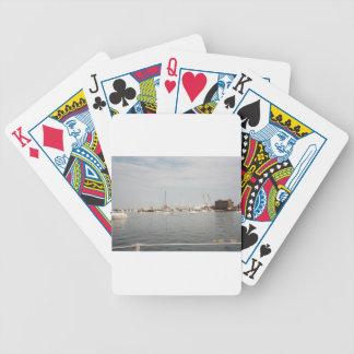 Newport sailing poker deck
