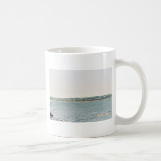 Newport shoreline coffee mugs