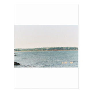 Newport shoreline postcard