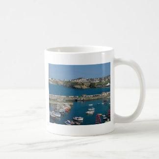 Newquay harbor, Cornwall, U.K. Coffee Mug