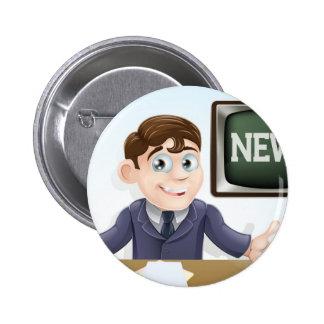 News anchor man button