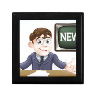 News anchor man jewelry boxes