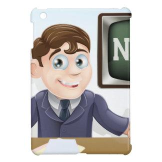 News anchor man iPad mini case