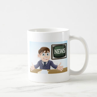 News anchor man coffee mugs