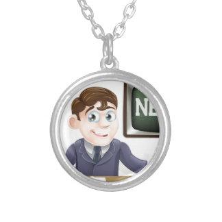 News anchor man necklaces