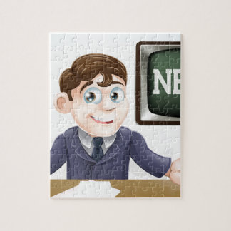 News anchor man puzzle