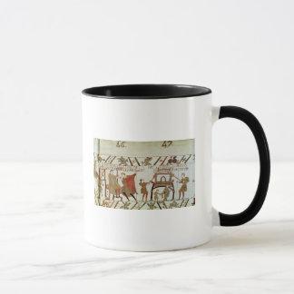 News concerning Harold  being brought to Mug