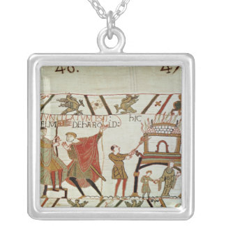 News concerning Harold  being brought to Silver Plated Necklace