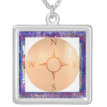 news east west north south compass pendant