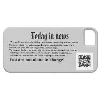 News flash I-Phone case Barely There iPhone 5 Case