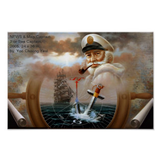 NEWS Map Captain 2 or Sea Captain Print