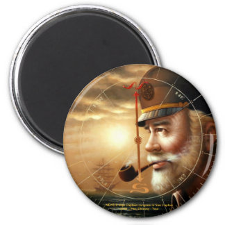 NEWS & Map Captain/compass or Sea Captain Magnet