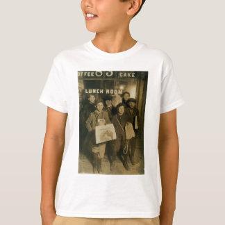 NEWSBOYS in New York Turn of Century T Shirts