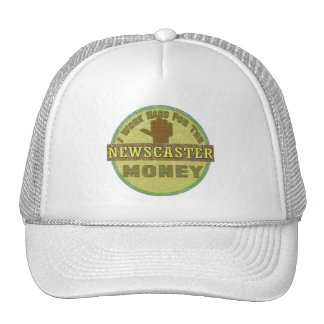 NEWSCASTER TRUCKER HATS