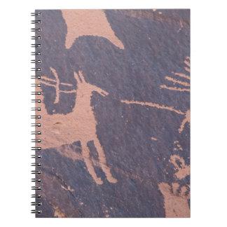 Newspaper Rock, S.P., UT Near Monticello. Notebooks