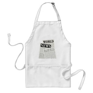 Newspapers Standard Apron