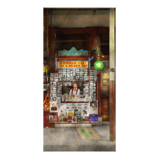Newsstand - Standing room only 1908 Personalised Photo Card
