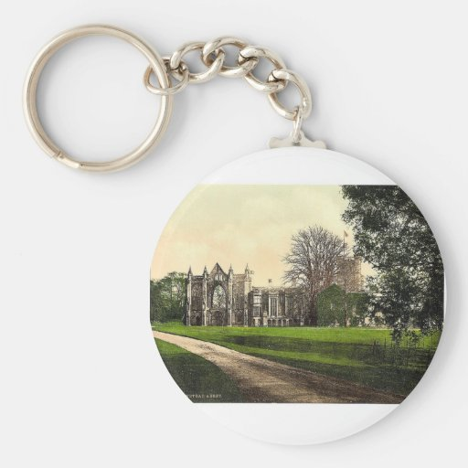 Newstead Abbey, Notts, England magnificent Photoch Keychains