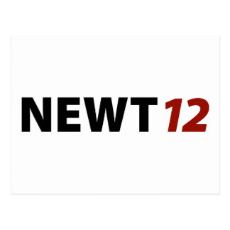 Newt '12 postcard