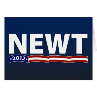Newt 2012 greeting card